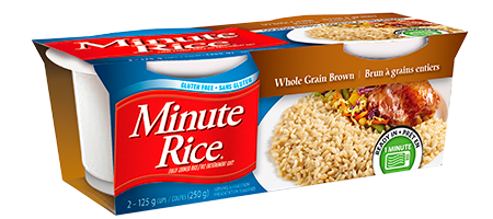 Product of Minute Rice - Whole grain brown