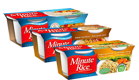 Package of the Minute Rice Ready-to-Serve